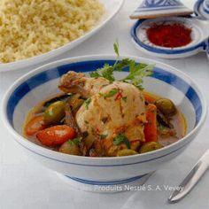 Recipe Chicken Tagine Moroccan Style - Nestle Family ME