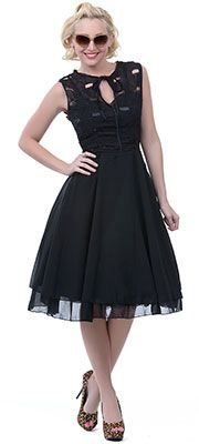 Rockabilly clothing: dresses, skirts, sweaters, shirts, pants, ties     fifty sixties