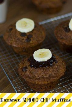 Reife Bananen, knackige Schokochips und ein hauch Zimt - der Perfekte Muffin für den Herbst.