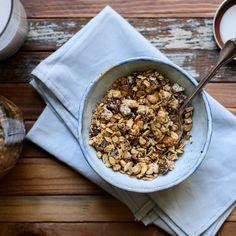 Delicious granola awaits.