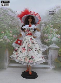 Robe Barbie Dominique outfit pour poupée Barbie