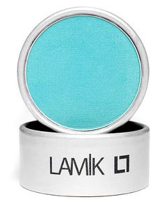 Pretty eyes, period. Lamik Beauty's Eye Decor Shadow in Tiffany Blue. It's like a gorgeous wash of watercolor — but opaque! Rock it from lash to crease, or smudge it softly along bottom lashlines for a happy-sexy, slightly mod burst of color.