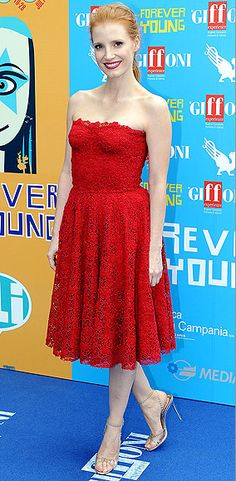 Celebrity red carpet style   Jessica Chastain