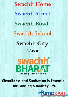 Keeping #Cleanliness & #Sanitation is necessary for living a #Healthy #Life. Educate #people to make cleanliness everywhere & take an initiative to keep your city #clean. Keep following us #Swachh #Bharat #Abhiyan… Clean India Posters, City Clean, Hand Hygiene, School Bulletin Boards, Air Pollution, Poster Making, Gandhi, School Projects, Slogan