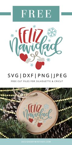 Free Feliz Navidad SVG DXF PNG & JPEG Feliz Navidad free svg file for silhouette and Cricut. Use this cute christmas svg to make some awesome Christmas DIY projects this holiday season. Christmas Labels, Merry Christmas To You, Christmas Svg, Christmas Design, Christmas Projects, Xmas, Christmas Things, Diy Christmas Tree Skirt, Svg File