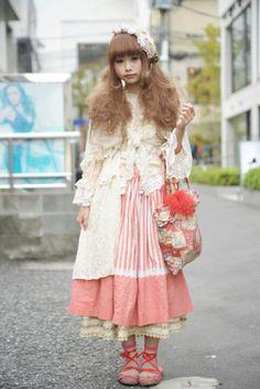 Harajuku sweet lolita fairy kei japanese fashion kawaii