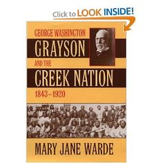 Book about Creek Indians