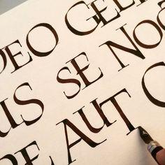 Resultado de imagen para luca barcellona roman calligraphy