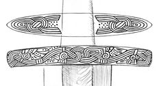 Image Examples, Viking Images, Viking Sword, Chef Knives, Picts, Medieval Art, Dark Ages, Swords, Archaeology