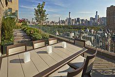 Edmund Hollander Landscape Architects   CENTRAL PARK WEST ROOFTOP