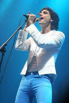Mika ......wow those trousers are tight! - Lowlands Festival, Netherlands Aug 17