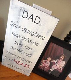 Father's Day Sign Done in Vintage white Fathers Day sign. Gift for Dad!