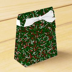 Candy Sprinkles and Polka Dots FAVOR BOX,Green #zazzle #green #christmas #candy #sprinkles #favorbox http://www.zazzle.com/zazzleparty?rf=238170457442240176