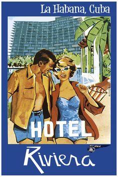 #Havana, #Cuba #Travel Poster, TravelPhotoTours.com