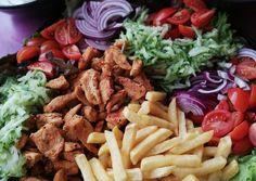 Gyros tálam recept foto Meat, Food, Hoods, Meals