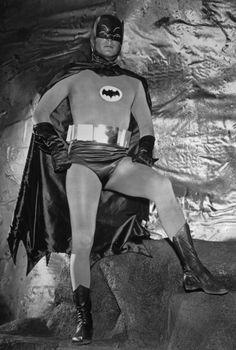 Adam West as Batman.