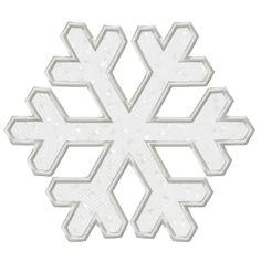 Free Snowflake Applique Planet Applique