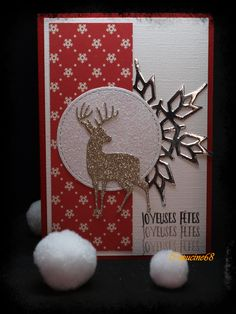 Homemade Christmas Cards, Christmas Cards To Make, Xmas Cards, Handmade Christmas, Christmas Crafts, Diy Crafts For Gifts, Holiday Crafts, Happy Birthday Cards, Christmas Projects