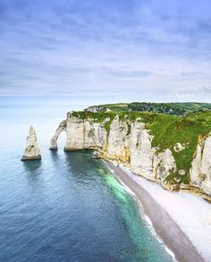 The Most Beautiful Places in France: Cliffs of Étretat, Normandy