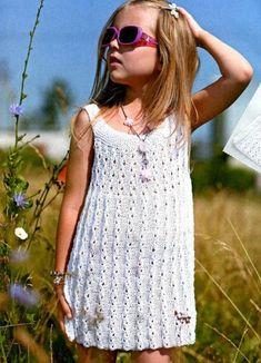 51c1cf46946 Οι 106 καλύτερες εικόνες για πλεκτα φορεματακια | Baby dresses, Baby ...
