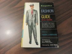 Esquire-Fashion-Guide-For-All-Occasions-Frederic-A-Birmingham-HC-1957-FREE-SHIP