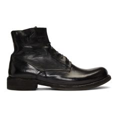 Officine Creative Hive Boots - Black In Nero Combat Boots, Ankle Boots, Men's Boots, Fashion Boots, Mens Fashion, Officine Creative, Ankle Highs, Ikon, Black Boots