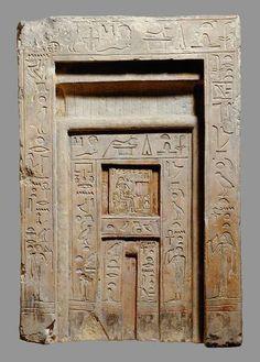 Gates Openings Doors Fal Doors Egypt Anci 2200 Bc Doors Doorway & False Door of the Royal Sealer Neferiu. Period: Old Kingdomu2013First ...