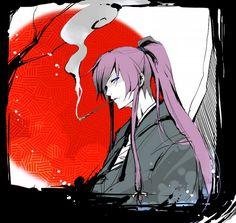 Kamui Gakupo Kamui, Mikuo, Hatsune Miku, Long Purple Hair, Vocaloid Characters, Pictures To Draw, Manga Art, Manhwa, Character Inspiration