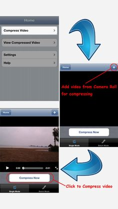 Compress Video - Free the Space on App Store:   Compress video to free the space for your device Now! It re-encode videos filmed on your device to smaller file size while keeping the same video quality. Also it can compress videos in batch. After compressed the output videos are saved in the private folder by default. It can be exported ...  Developer: Jacky Wu  Download at http://ift.tt/1pI9ZoE