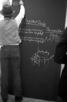 "La nuit blanche - Joseph Beuys  Directional Forces ,1977 ""…An..."