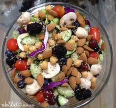 Texas Two Step Salad | Rebel Dietitian, Dana McDonald, RD.