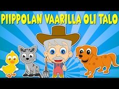 Piippolan vaarilla oli talo | Lastenlauluja suomeksi - YouTube Kids Songs, Pikachu, Family Guy, Guys, Children, Youtube, Fictional Characters, Musica, Young Children