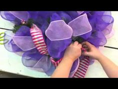 Holiday How-To Part 3 - Whimsical Wreath Workshop - YouTube