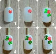 Best Nail Art Designs, Colorful Nail Designs, Nail Designs Spring, Cute Toe Nails, Fancy Nails, Nail Manicure, Diy Nails, Shabby Chic Nails, Nail Art Modele