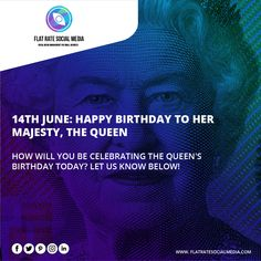 14th June: Happy birthday to her majesty, the Queen. How will you be celebrating the Queen's Birthday today? Let us know below! 😍