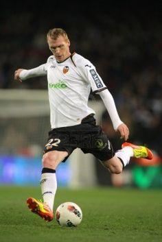 Jeremy Mathieu of Valencia CF  http://www.123rf.com