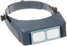 "Donegan DA-5 OptiVisor Headband Magnifier, 2.5x Magnification, 8"" Focal Length"