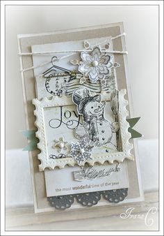 Love the colors, the stamp looking frame- it all just fits.