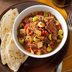 Easy Ropa Vieja Stew Best Slow Cooker, Slow Cooker Recipes, Beef Recipes, Cooking Recipes, Freezable Recipes, Soup Recipes, Pepper Recipes, Cooking Tips, Beef Freezer Meals