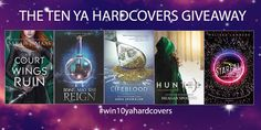 We are giving awayTEN NEW RELEASE YA Hardcovers! There's Lifeblood by Gena Showalter, Long May She Reign by Rhiannon Thomas, Hunteda Beauty and the Beast Retellingby Meagan Spooner, A Court of Wings and Ruinby Sarah J Mass (Preorder), Starfall (A Starflight Novel)by Melissa Landers, From 22 March2017 we will draw a daily winner forFIVE days who will each receiveone of these amazing hardcovers. Then we will draw one final winner who will win allFIVE hardcovers delivered to their…