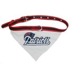 Official New England Patriots ProShop - Patriots Pet First Collar Bandana