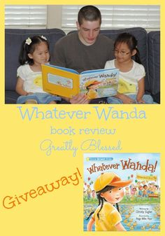 Greatly Blessed: Whatever Wanda book review and #GIVEAWAY