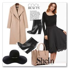"""""""Shein 3/10"""" by zina1002 ❤ liked on Polyvore featuring WithChic and Eugenia Kim"""
