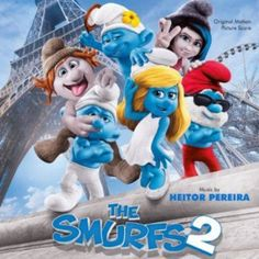 The SMURFS 2 score features music composed by Heitor Periera.