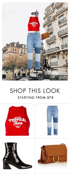 """""""urban chic"""" by gabilima109-1 ❤ liked on Polyvore featuring GCDS, Steve J & Yoni P, Dorateymur and Chloé"""