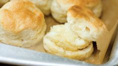 We've rounded up these Southern biscuit recipes that are perfect for breakfast, lunch, dinner, and everything in between. A biscuit is the perfect Southern breakfast food, ready to be filled with everything from eggs and bacon to jam. These fantastic recipes take your biscuit from the everyday to wanting one every day. Our Buttermilk Biscuits have the perfect biscuit recipe—you only need five ingredients to make them. Once you start with the add-ins, these biscuits get even more delicious…