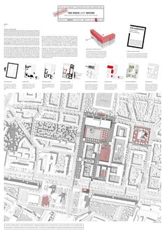 Gewinner Vectorworks Stipendium I Landschaft (D, A, CH): © Filip Staszkiewicz - _WPF - Architecture Architecture Panel, Architecture Drawings, Architecture Portfolio, Landscape Architecture, Landscape Design, Architecture Design, Architecture Presentation Board, Presentation Layout, Urban Mapping