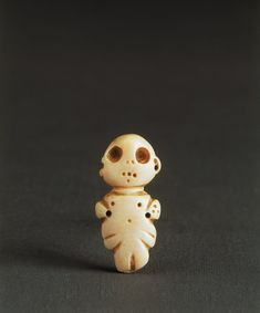 Sumerian Carved Shell Amuletic Pendant / Late Uruk Period – circa 3100 – 2900 BCE / 4 cm by 2 cm