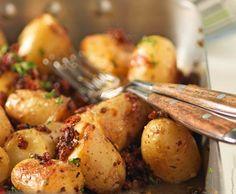 Pikante Blechkartoffeln - Rezept - Saisonküche
