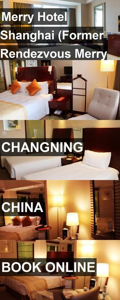 Merry Hotel Shanghai (Former Rendezvous Merry Hotel Shanghai) in Changning, China. For more information, photos, reviews and best prices please follow the link. #China #Changning #travel #vacation #hotel
